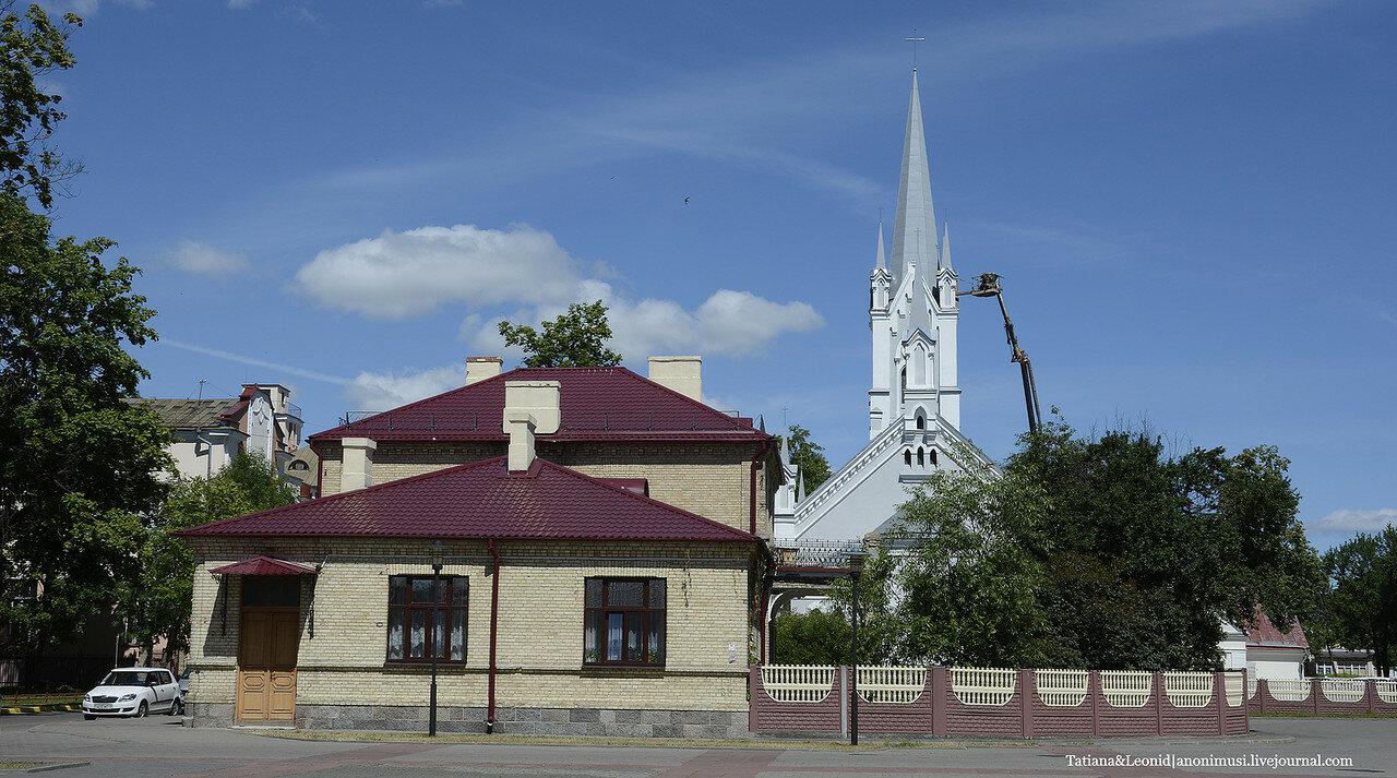Лютеранская кирха в Гродно. Беларусь.