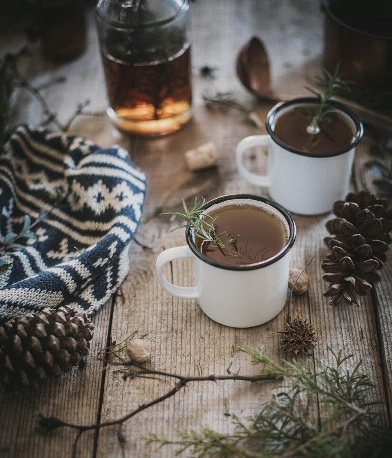 Зимние картинки чая