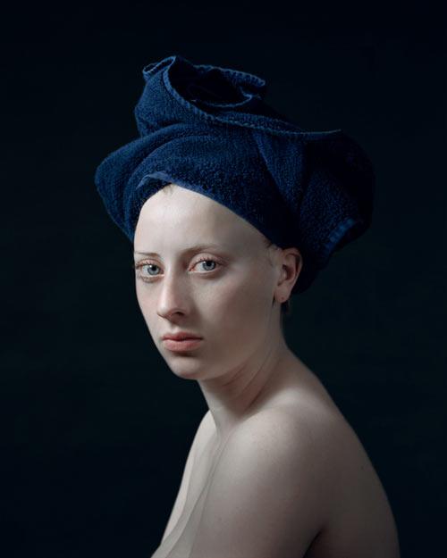 Женские портреты нидерл5a8андского фотографа Хендрика Керстенса / Hendrik Kerstens