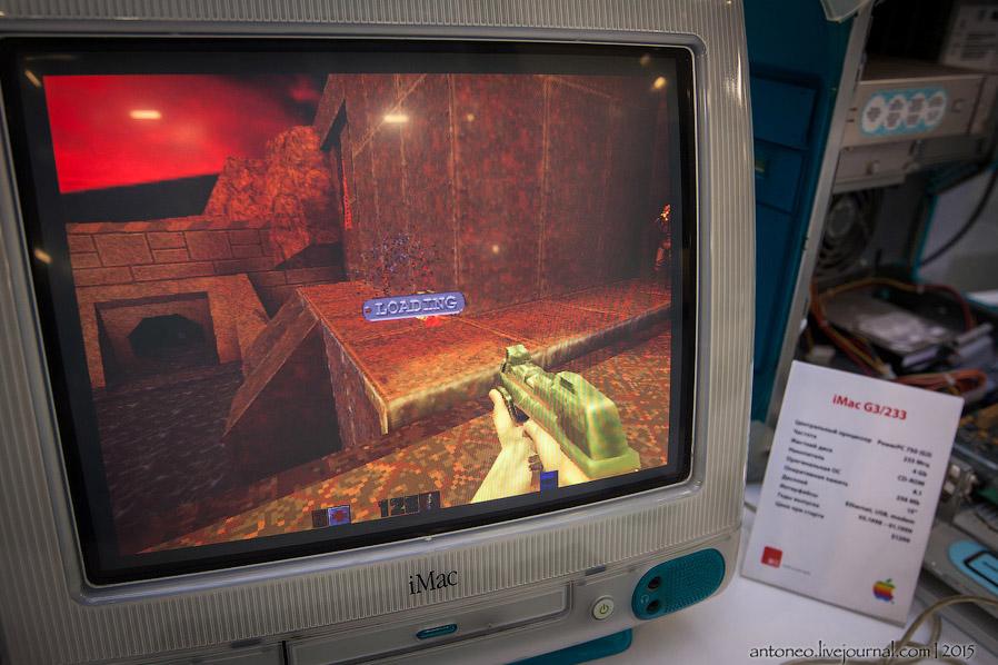 17. iMac прошёл несколько этапов развития. Увеличение объемов жесткого диска, улучшением графических