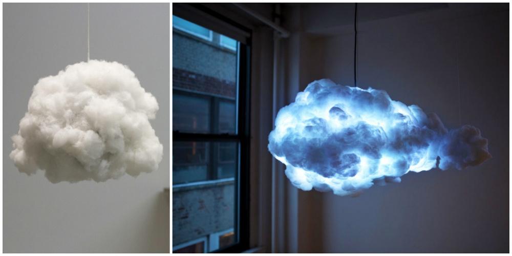 Благодаря дизайнеру Ричарду Кларксону теперь вквартире можно «поселить» свое собственное облако. И