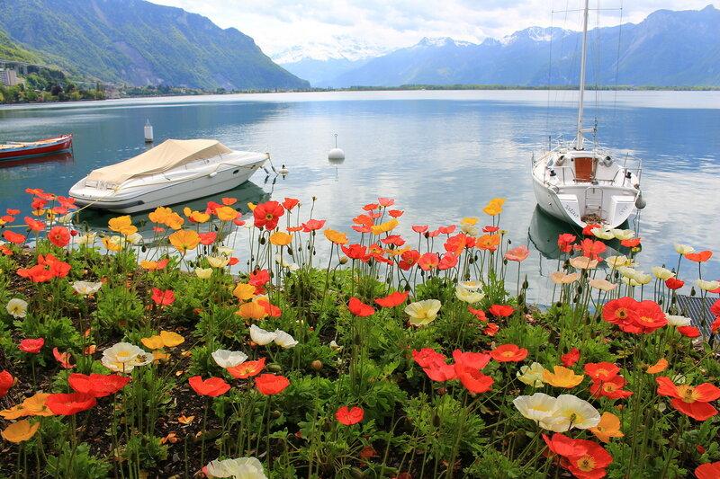 Монтрё - самая цветочная набережная в мире