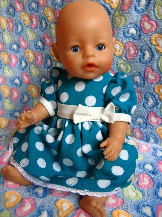Сшить платье для беби борн