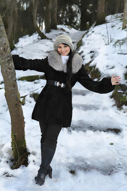 Олия - зима