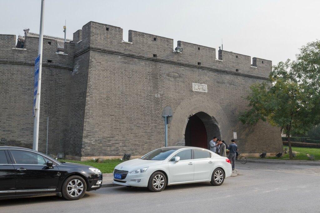 Крепостные стены Ваньпина