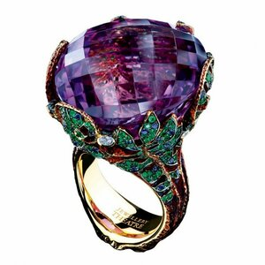 Jewellery Theatre - Amethyst, sapphire, tsavorite and diamond ring