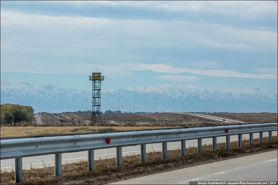Дороги в Казахстане