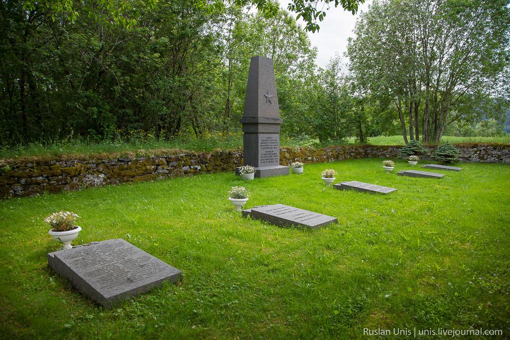 Кладбище в Норвегии