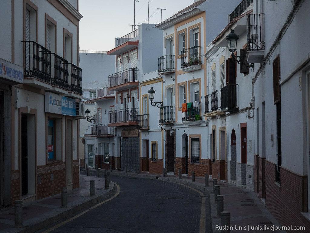 Путешествие на машине по Испании
