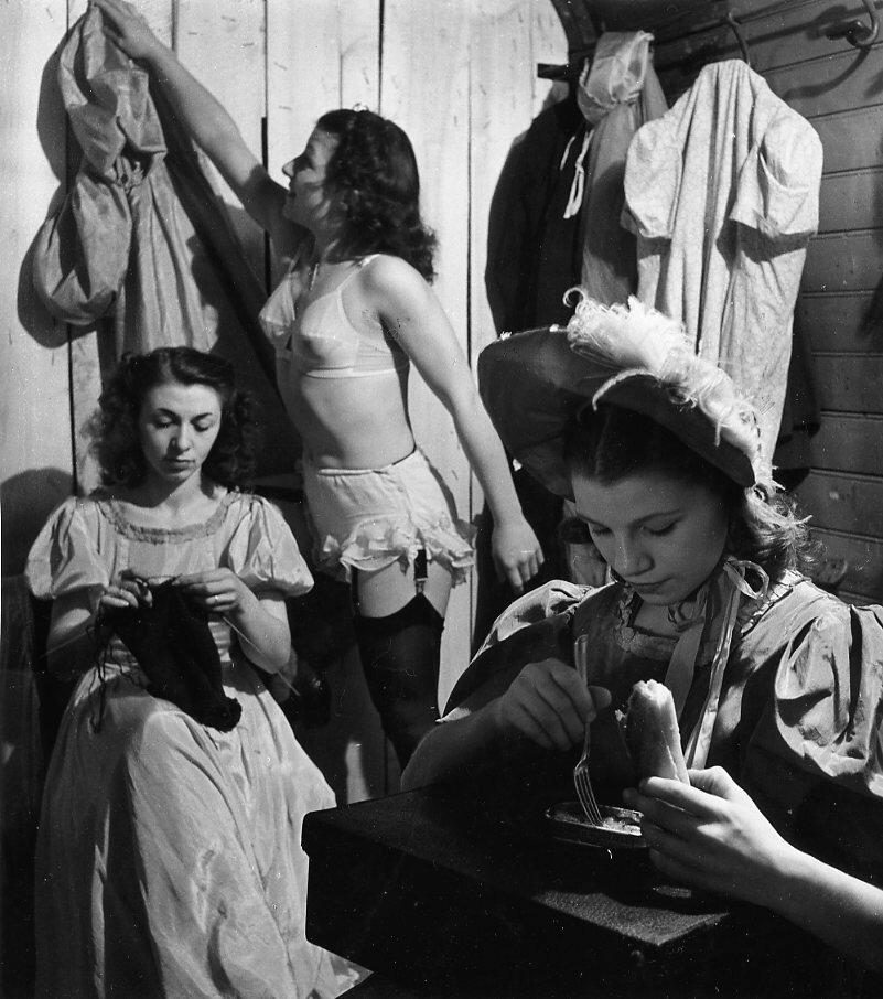 1951. Цирк Фанни