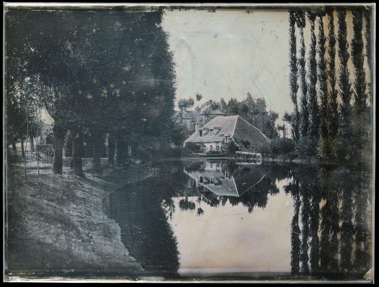 1844. Пейзаж с коттеджем