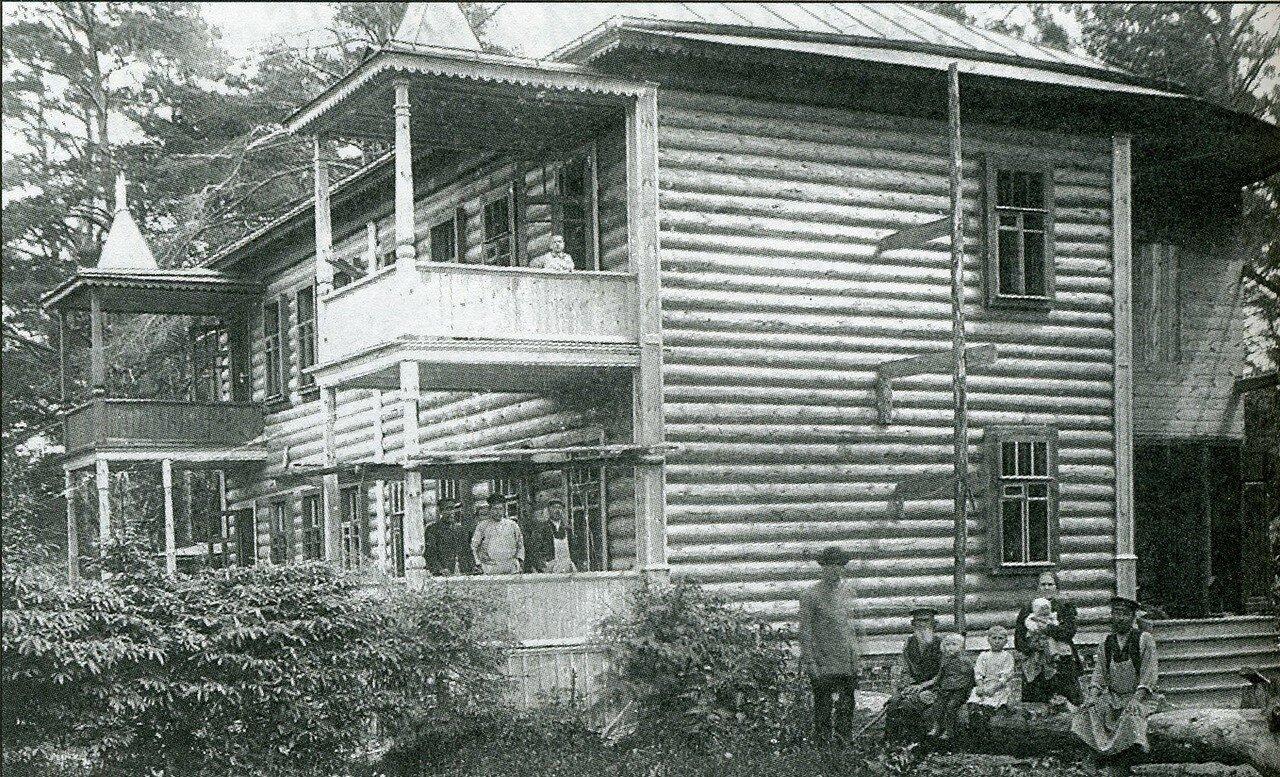645. Окончание строительства дома Сафрона Шлякова в Перово