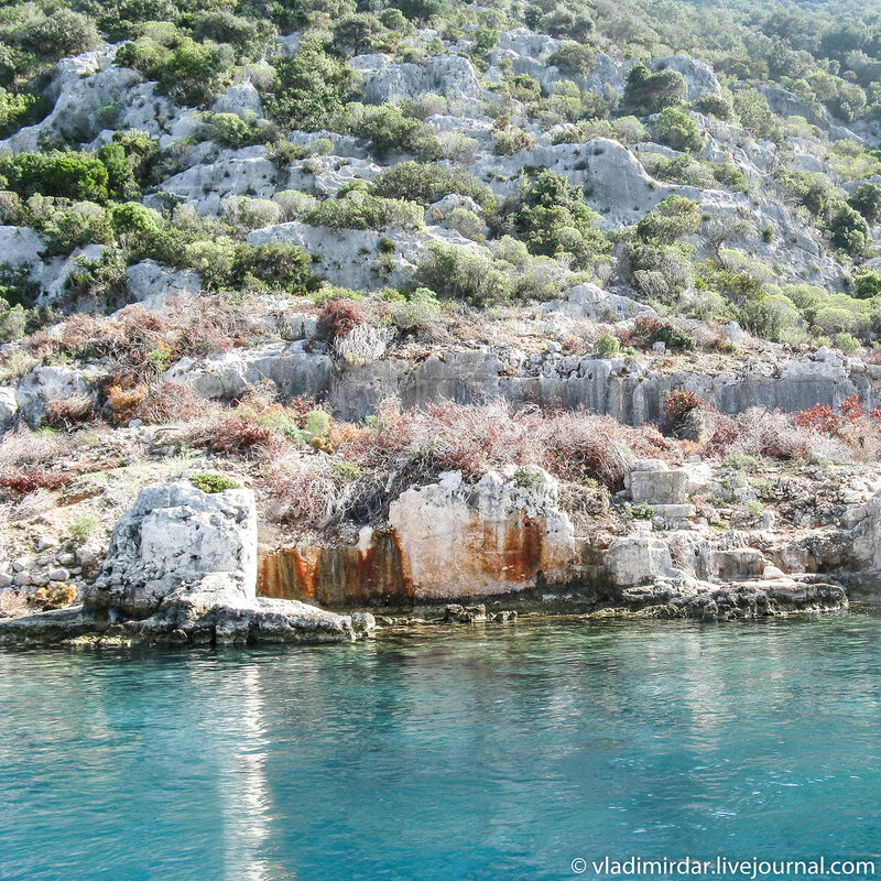 Древний затонувший город Долихисте