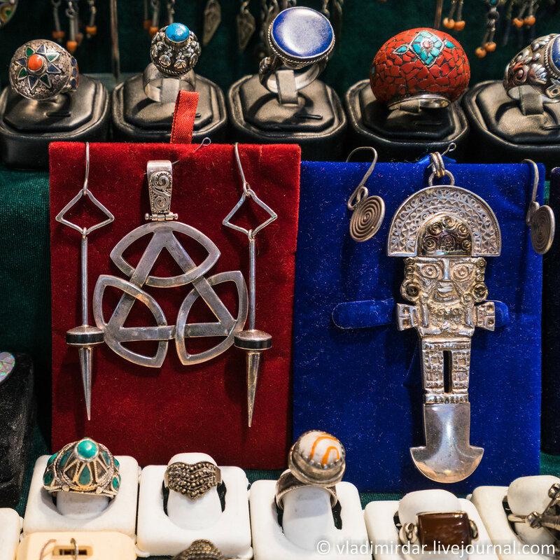 Антикварные украшения со всего Мира
