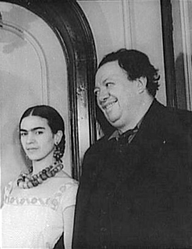 Фрида Кало и Диего Ривера. 1932 г.