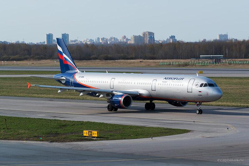 Airbus A321-211 (VP-BRW) Аэрофлот D804386