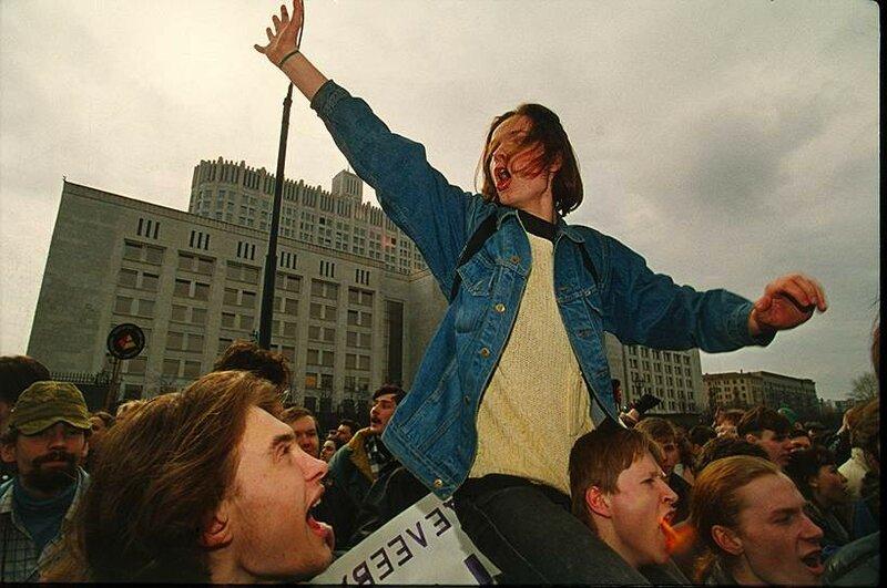 12 апреля 1995 акция Студенческая защита, один из крупнейших студенческих протестов в истории России.jpg