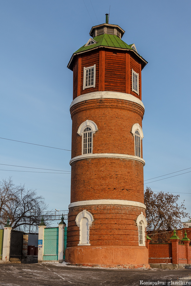 Водонапорная башня Курган.
