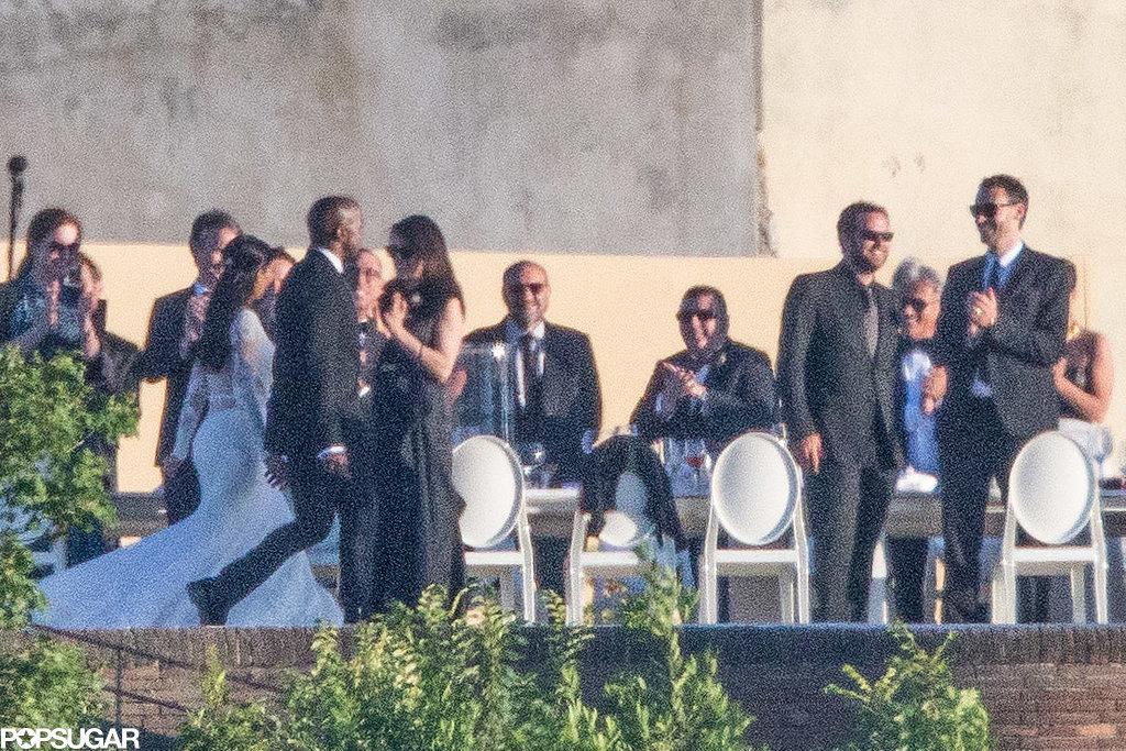 Свадьба Ким Кардашян и Канье Уэста. Интересные фотографии