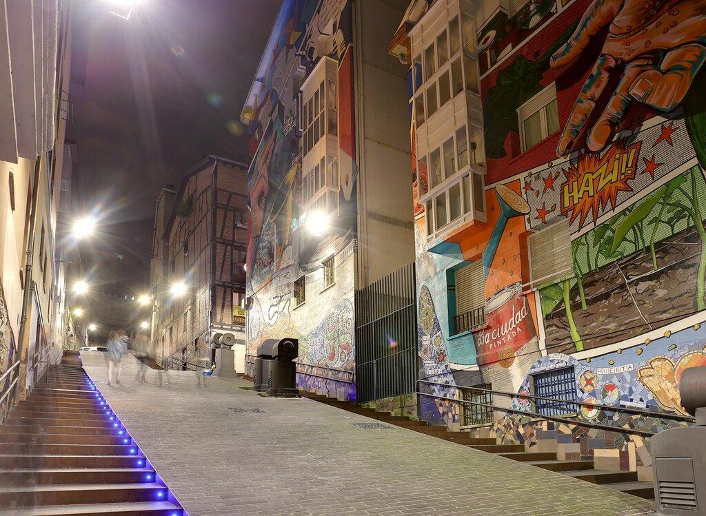 Vitoria-Gasteiz. Cantón de Anorbín street.