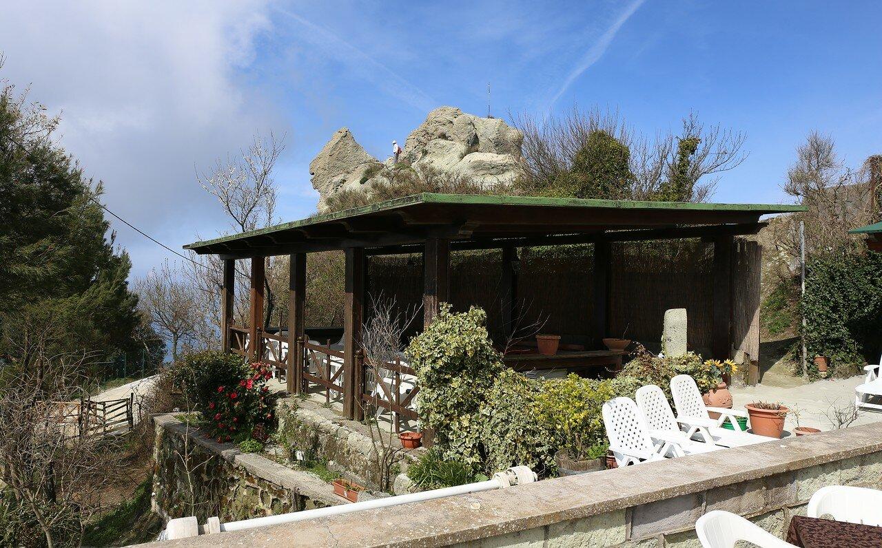 Ischia. The hotel Monte Epomeo