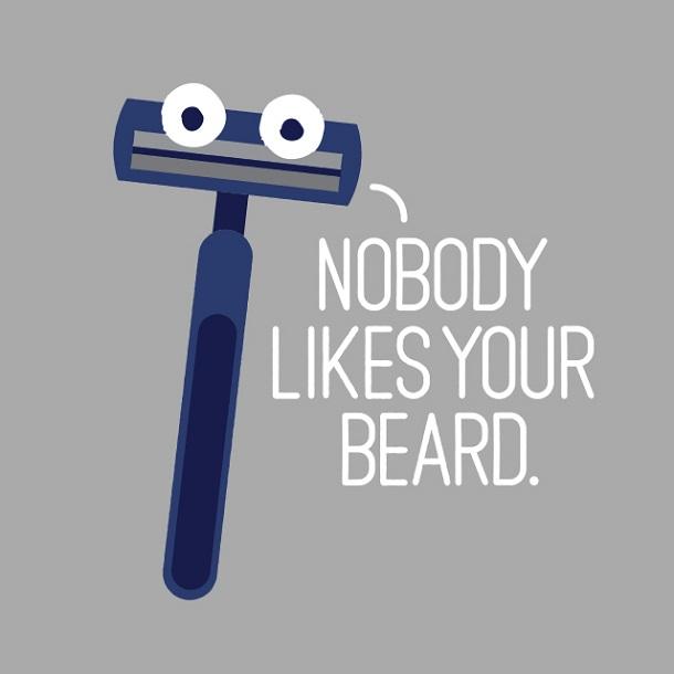 Твоя борода всех бесит!