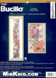 Журнал Bucilla 42708 Flowers, Bird &Butterflies