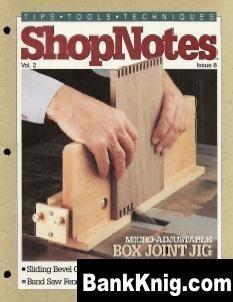 Журнал ShopNotes №08 (1993)
