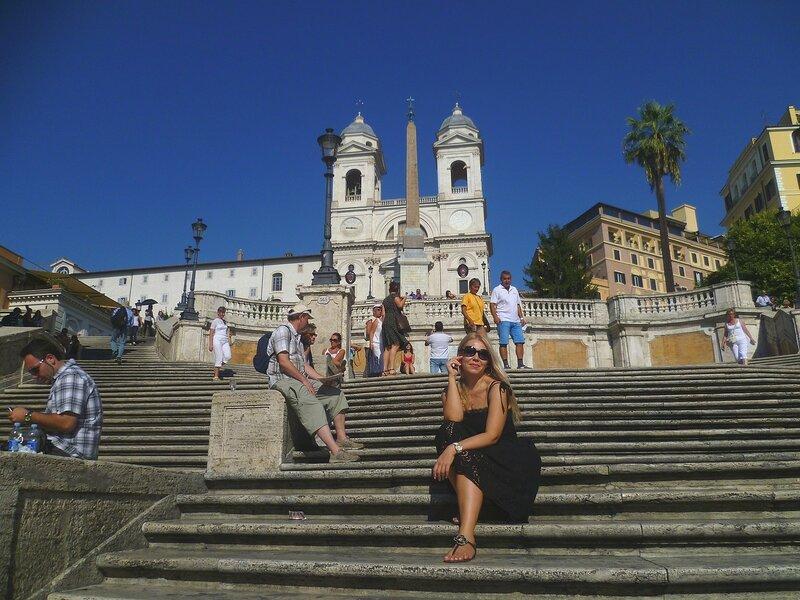 Италия, Рим - Испанская лестница (Italy, Rome - Spanish Steps)