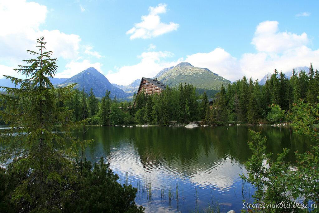Словакия, Высокие Татры, Штребске Плесо