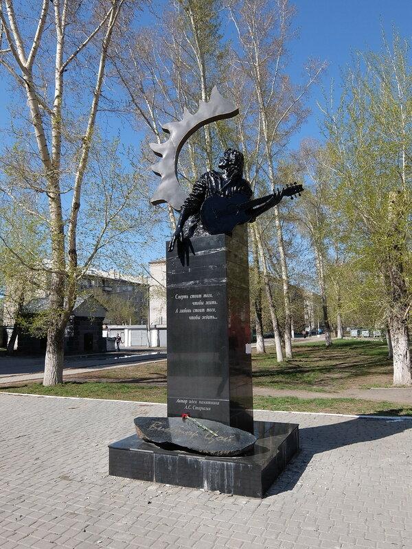 Барнаул - Памятник Цою
