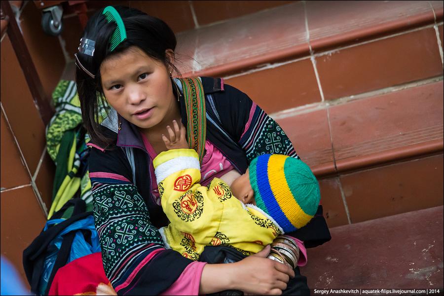 Черные и синие хмонги