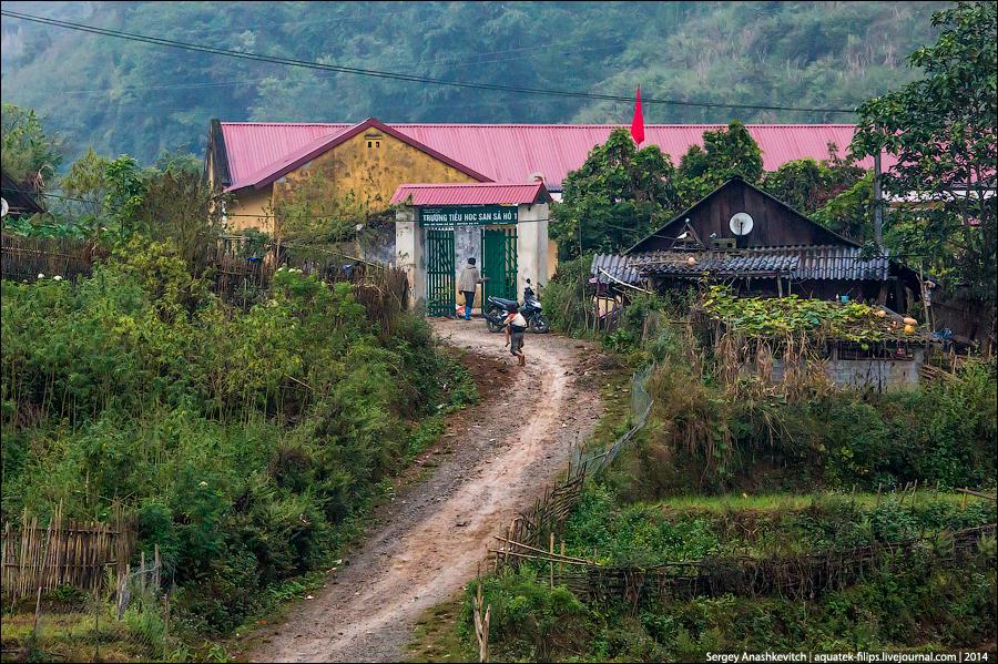 Деревня на севере Вьетнама
