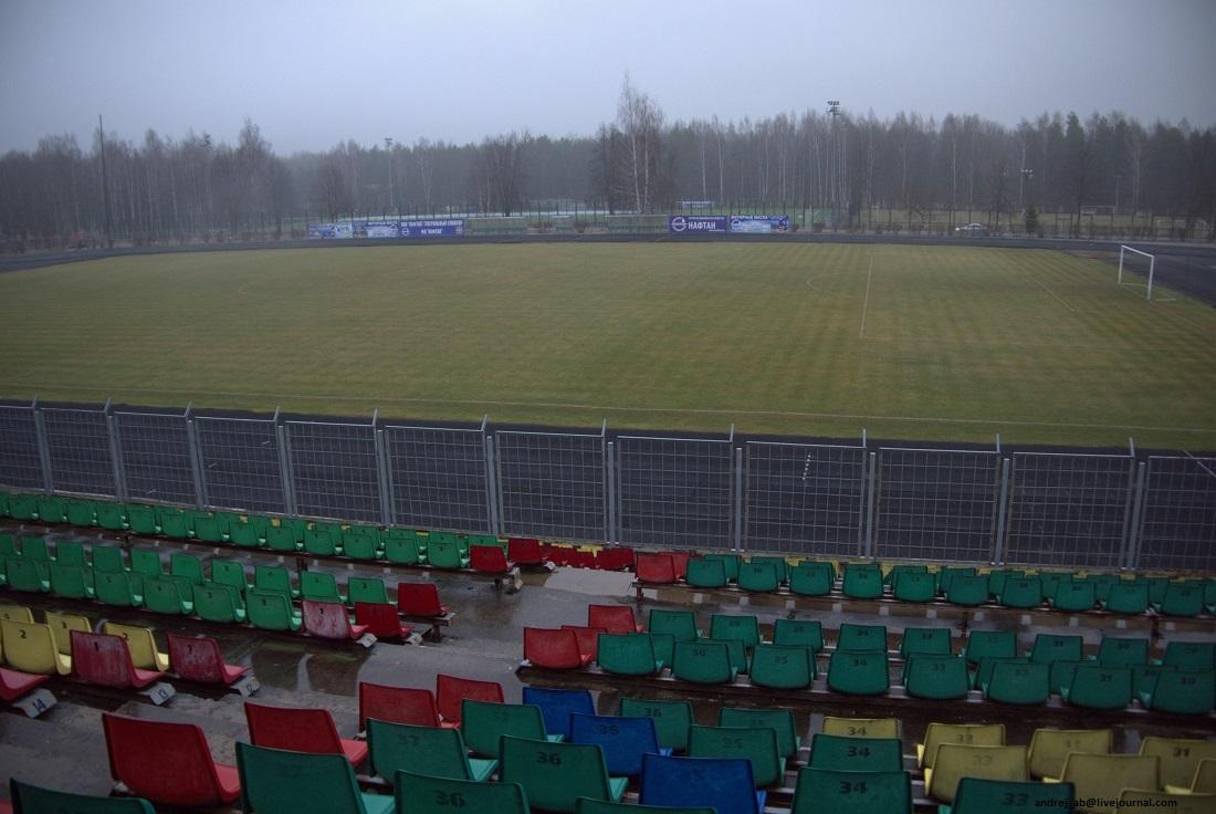 """Стадион """"Атлант"""" в Новополоцке."""