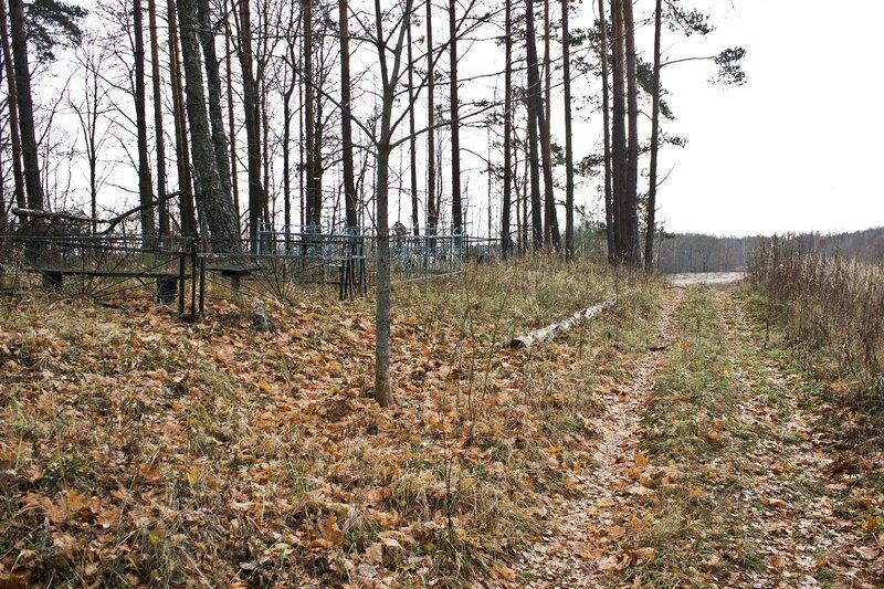 кладбище в урочище Морышки