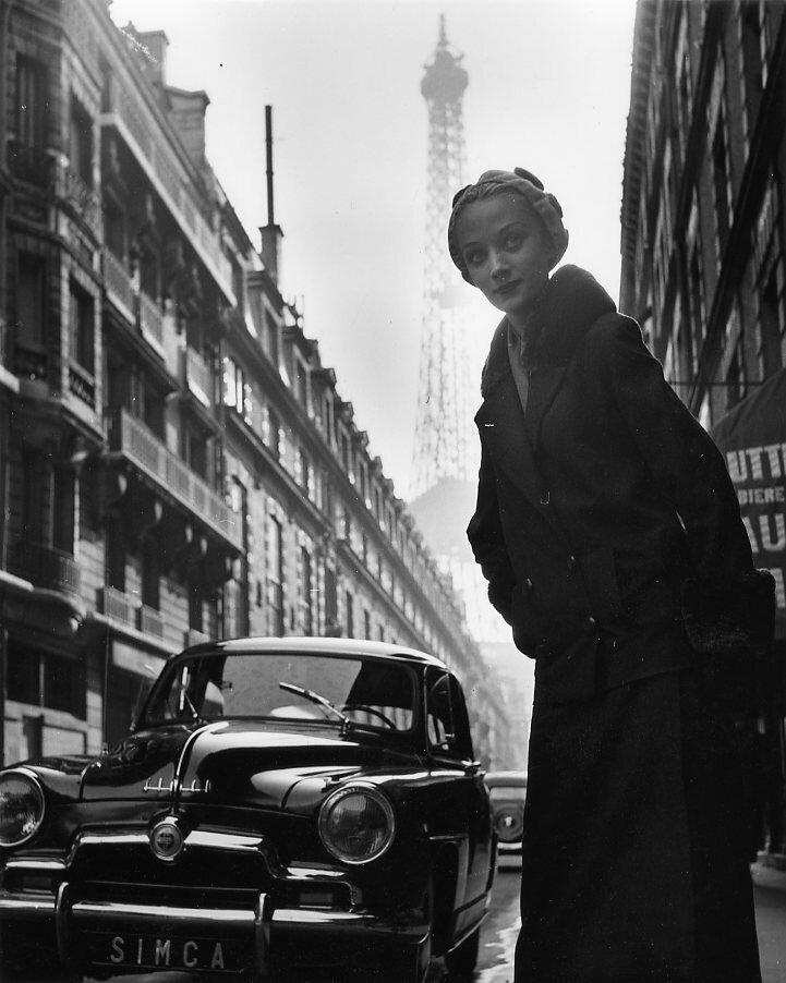 1952. Ники, модель для «Симки» Париж