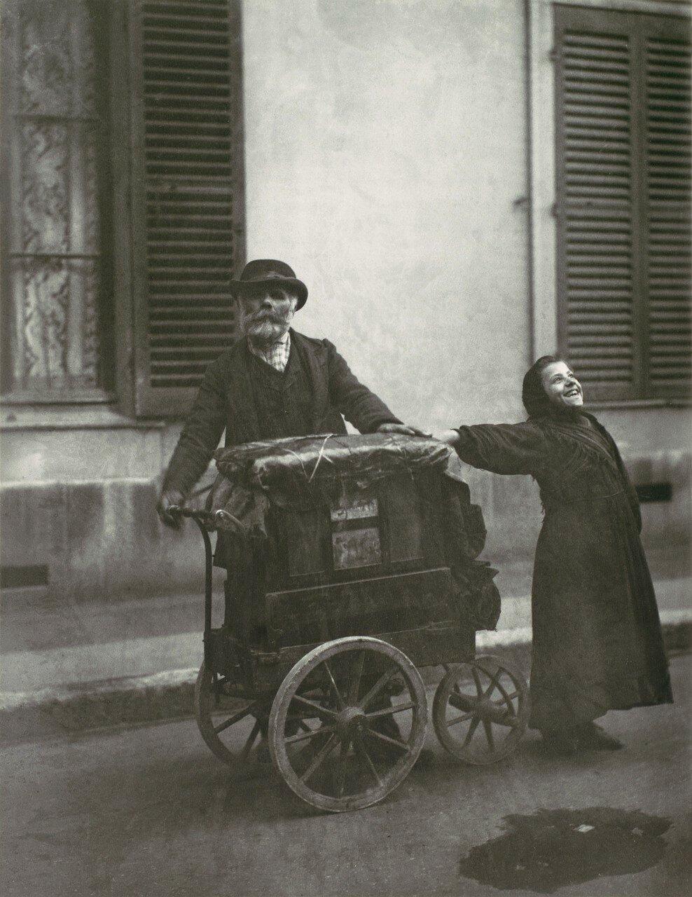 1898–99. Уличные музыканты