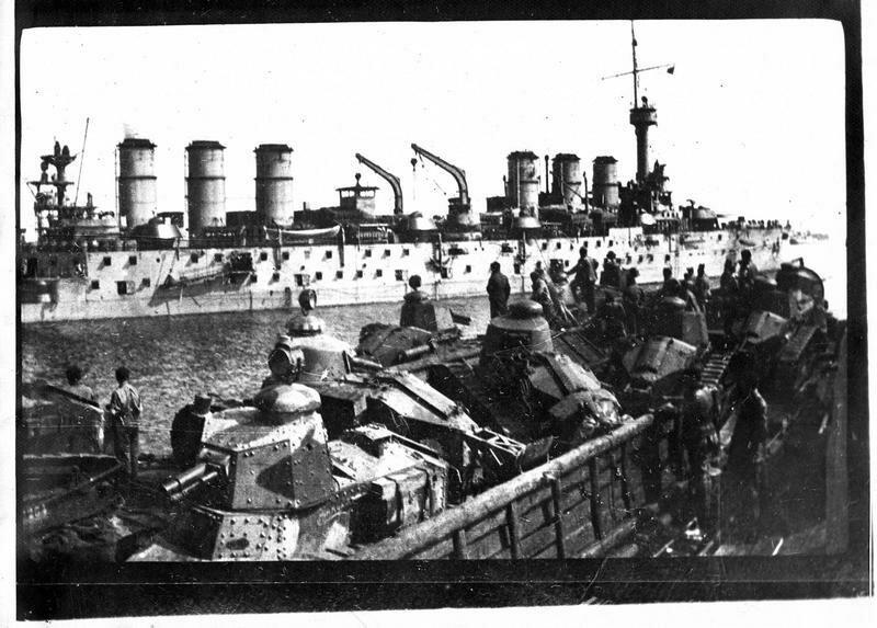 1919. Крейсер-дредноут Эрнест Ренан на Днестре