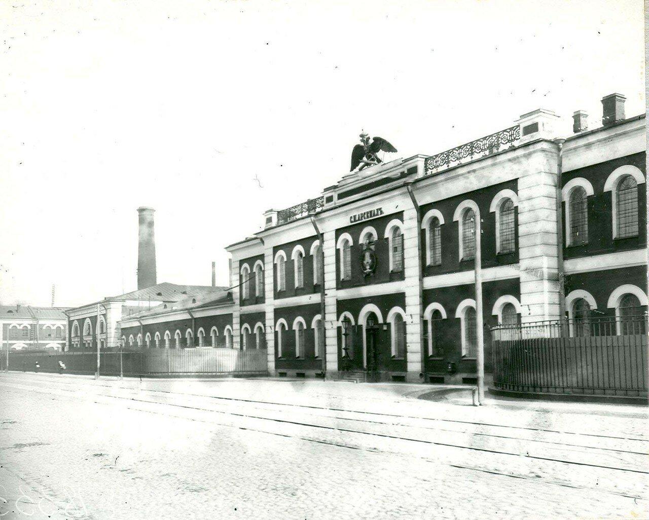 14.Внешний вид корпусов завода Арсенал Петра Великого. 21 апреля 1914