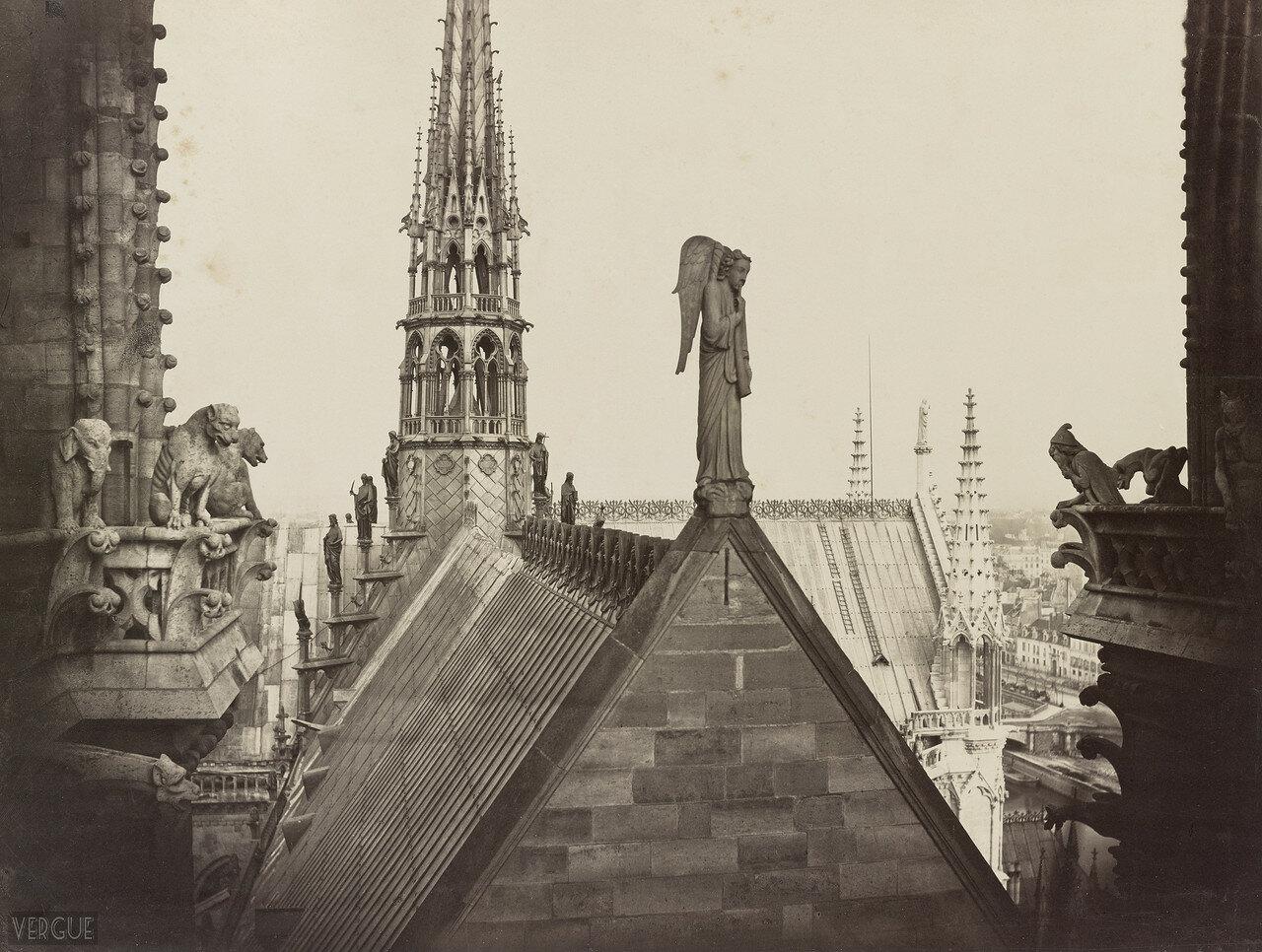 Ангел на крыше. 1862