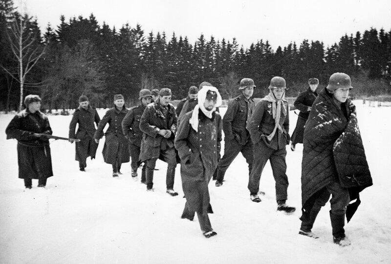 «Правда», 1 декабря 1941 года, пленные немцы, немецкие военнопленные, немцы в плену, немцы в советском плену, немецкий солдат, битва за Москву