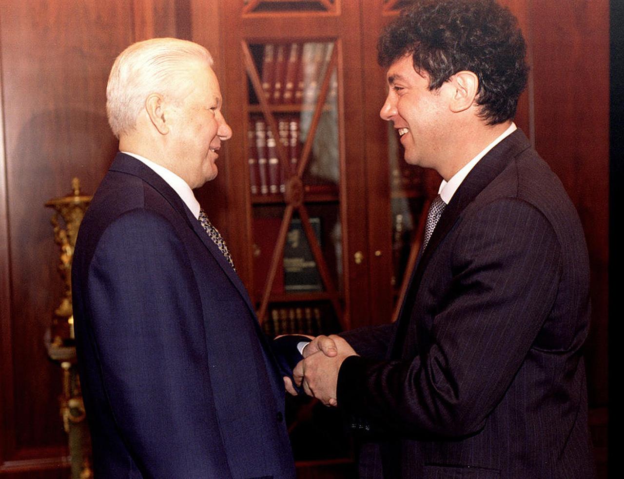 Борис Немцов согласился стать заместителем премьер-министра на встрече с Борисом Ельциным. 17 марта 1997 года