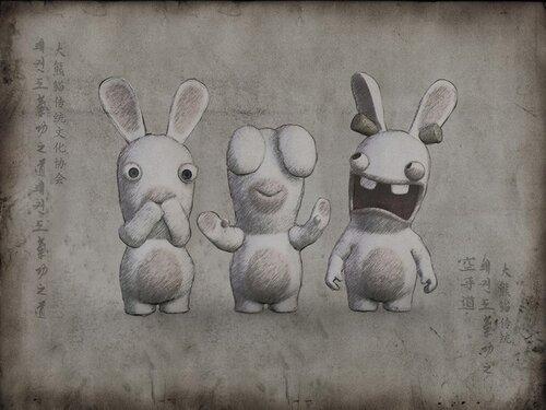 Санусаги или три бешеных кролика. Старые символы на новый лад..jpeg