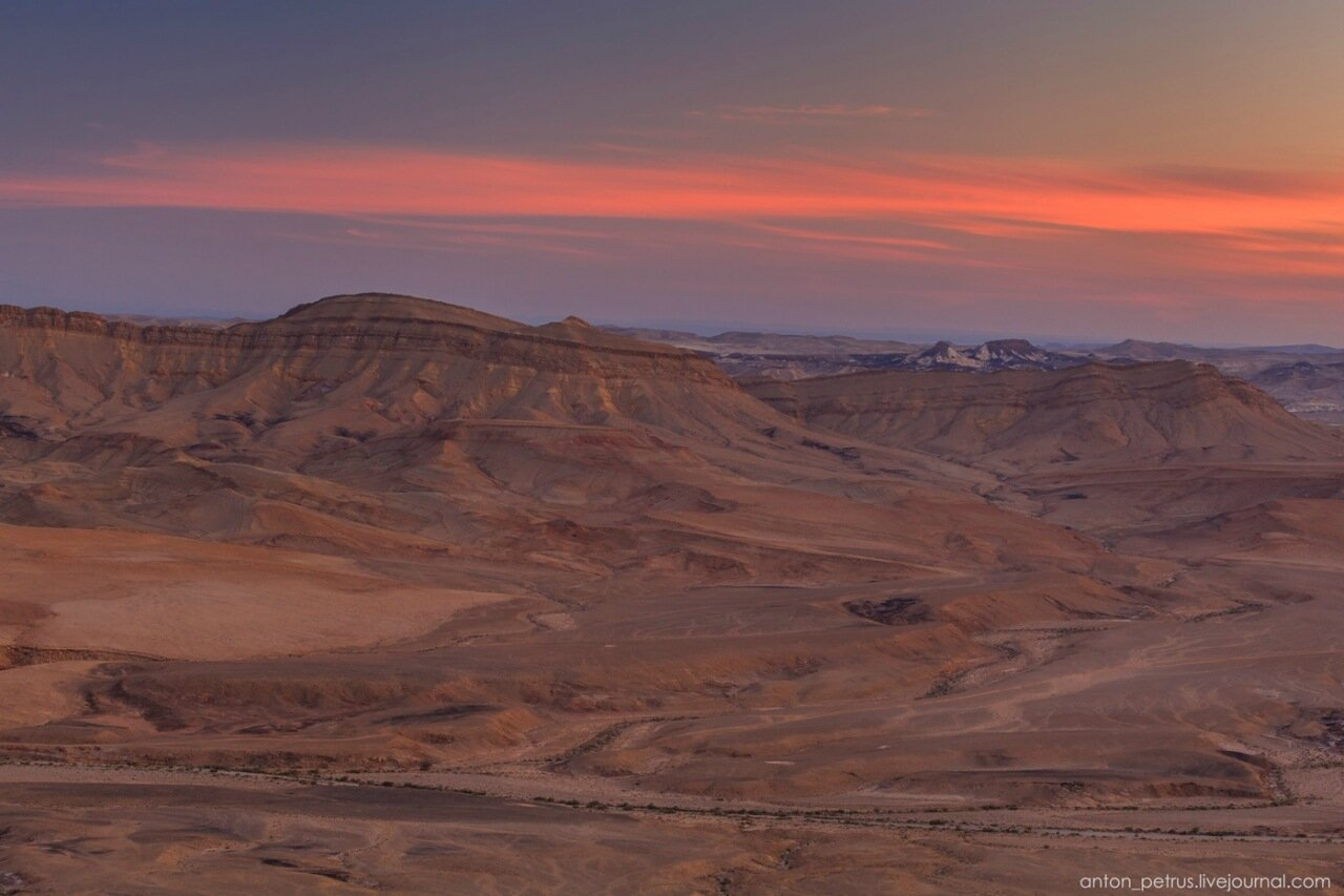Махтеш Рамон, Израиль
