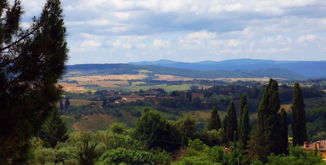 Окрестности города Сиена (Siena)