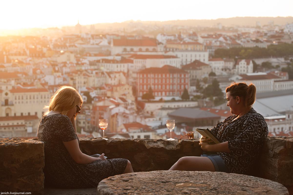 фотопутешествия, фототуризм, фото, Лиссабон, закат