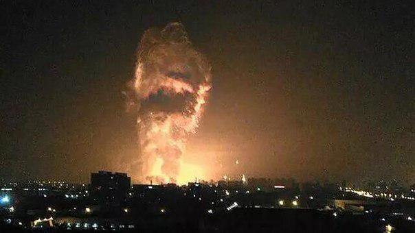 СМИ взрыв в порту китайского Тяньцзиня унес жизни как минимум 7 человек