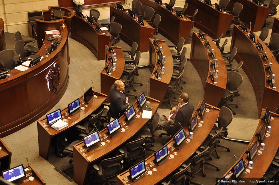 0 19199e 3d123c78 orig День 209 211. Парламент Колумбии в Боготе, Национальный музей и Президентский Дворец