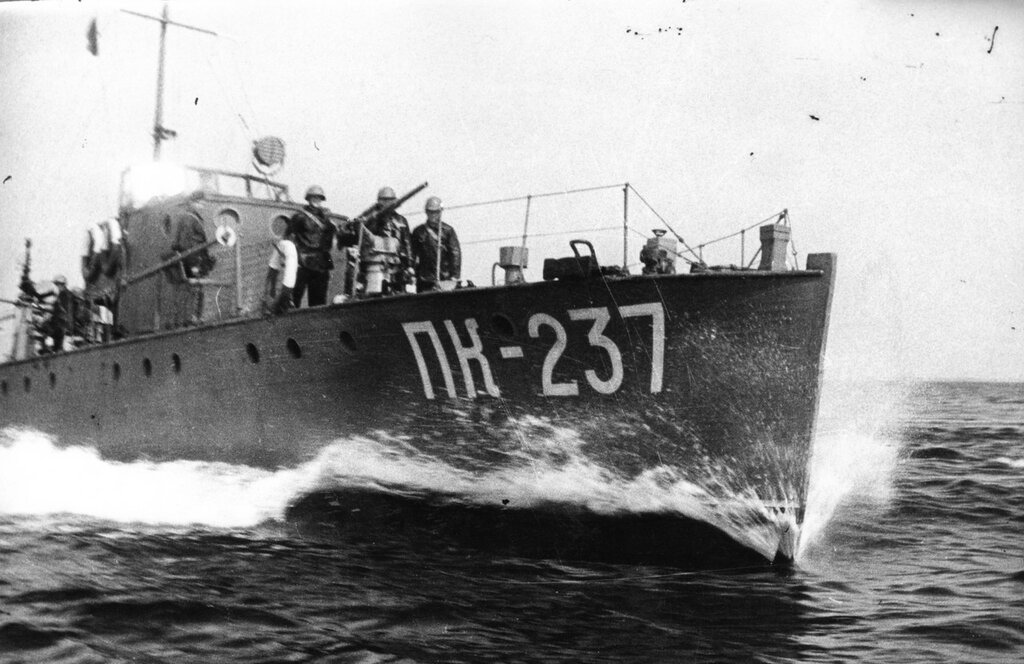Soviet gunboat PC-type 237-2 Near Hanko