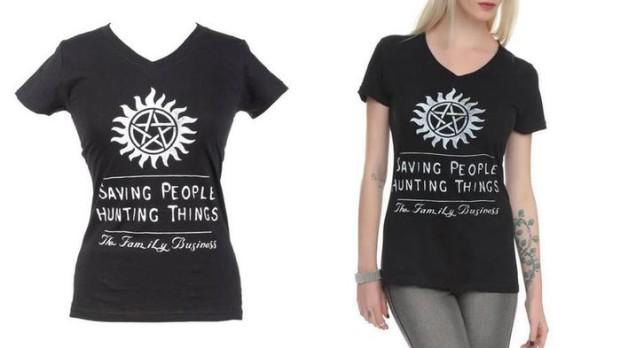 Семейное дело: «сверхъестественные» футболки на Amazon